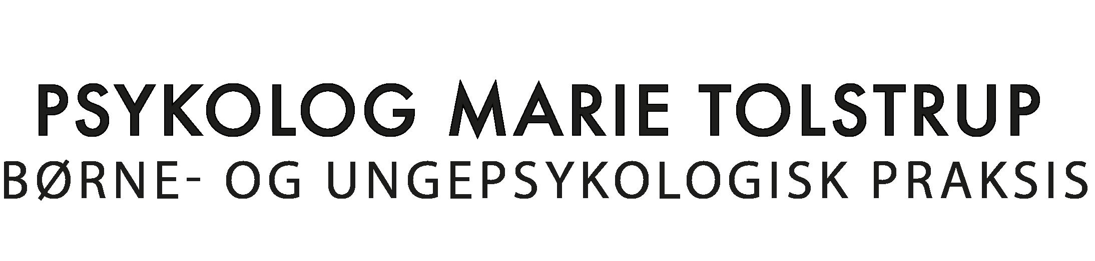 Psykolog Marie Tolstrup